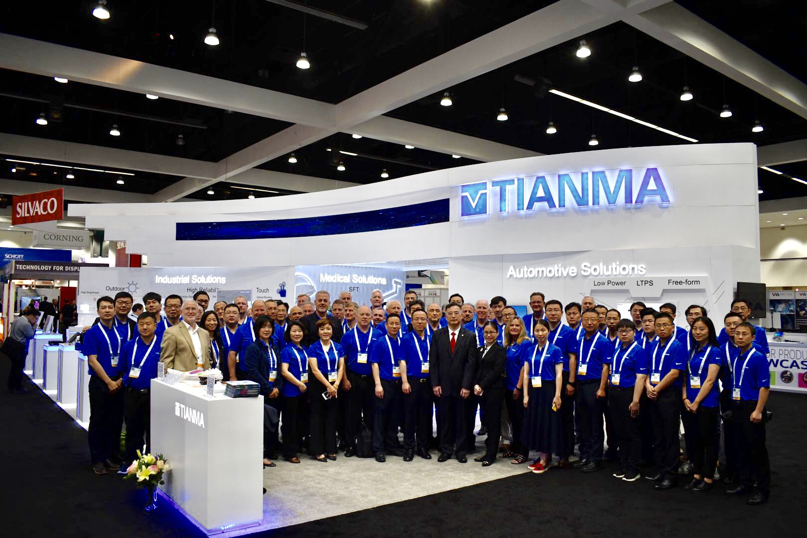 Tianma New Releases Made a Stunning Debut to the 2 World at SID 2018